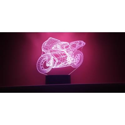 LAMPE 3D - DUCATI -