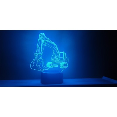 LAMPE 3D - PELLETEUSE -