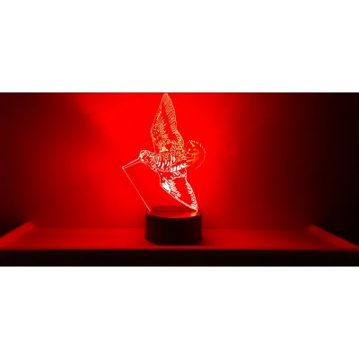 LAMPE 3D - BECASSE -