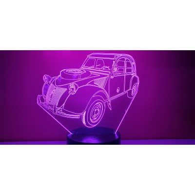 LAMPE 3D - 2CV SAHARA...