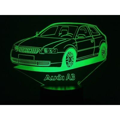 LAMPE 3D - AUDI A3 -