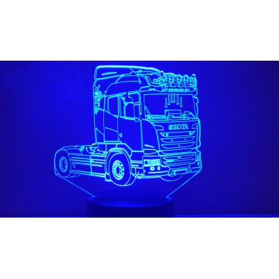 LAMPE 3D - SCANIA (5) -