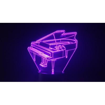 LAMPE 3D - PIANO -