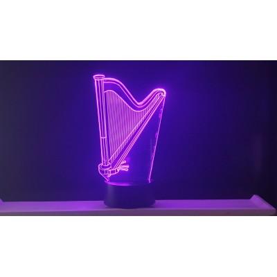 LAMPE 3D - HARPE -