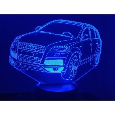 LAMPE 3D - AUDI Q7-
