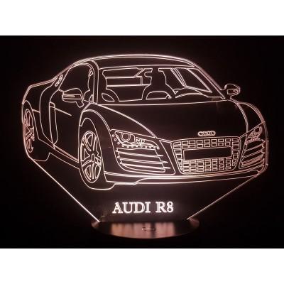 LAMPE 3D - AUDI R8 -