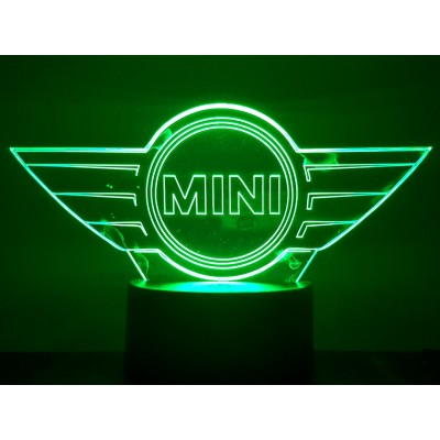 LAMPE 3D - LOGO AUSTIN MINI  -