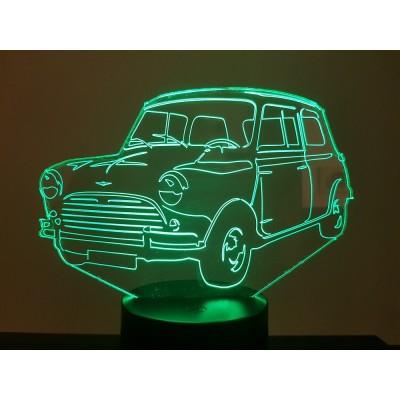 LAMPE 3D - AUSTIN MINI...