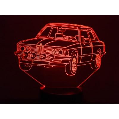 LAMPE 3D - BMW (1977) -