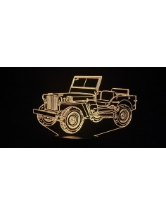 LAMPE 3D - JEEP WILLYS 1 -