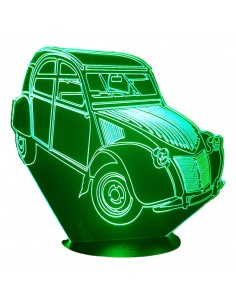 LAMPE 3D - CITROËN 2CV  AZ...