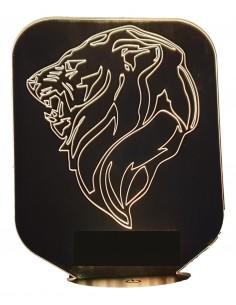 LAMPE 3D - LOGO LION PEUGEOT -