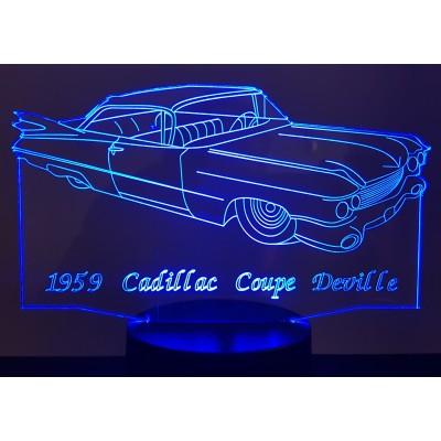 LAMPE 3D - CADILLAC Coupé...