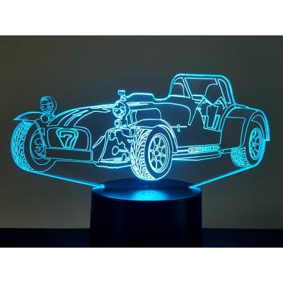 LAMPE 3D - CATERHAM -