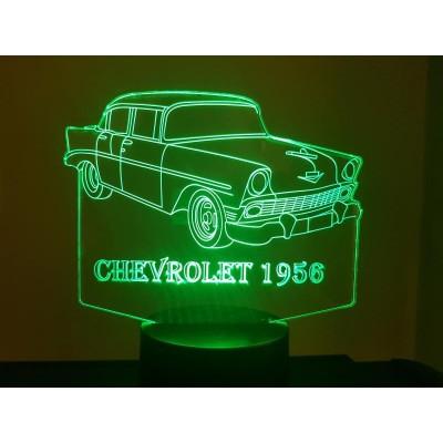 LAMPE 3D - CHEVROLET 1956 -