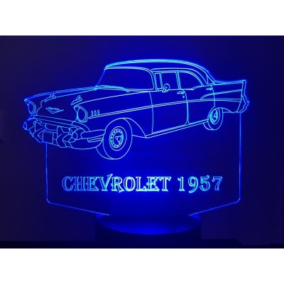 LAMPE 3D - CHEVROLET  TWO...