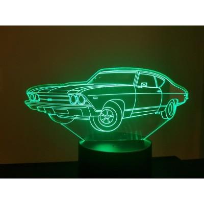 LAMPE 3D - CHEVROLET  1969 -