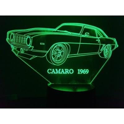 LAMPE 3D - CHEVROLET  Z28...