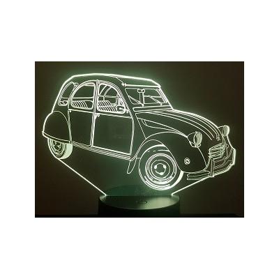 LAMPE 3D - CITROËN 2CV -