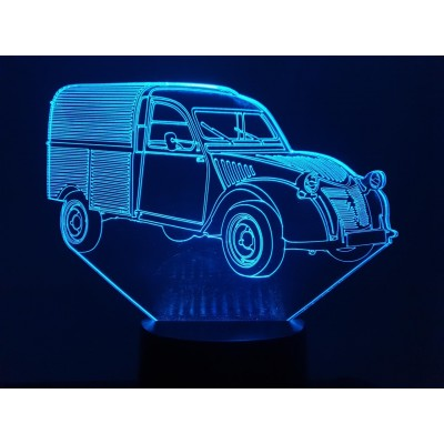 LAMPE 3D - CITROËN 2CV...