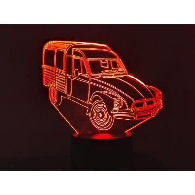 LAMPE 3D - CITROËN ACADYANE -