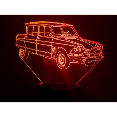 LAMPE 3D - CITROËN AMI 6 -