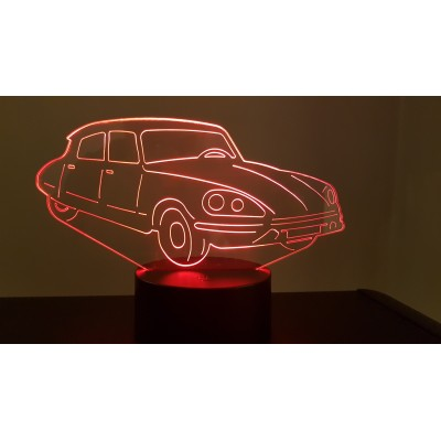LAMPE 3D - CITROËN DS -