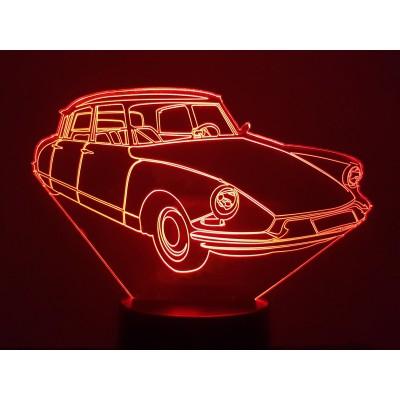 LAMPE 3D - CITROËN DS (2) -