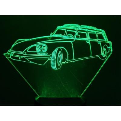 LAMPE 3D - CITROËN DS Break -