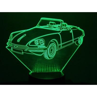 LAMPE 3D - CITROËN DS...