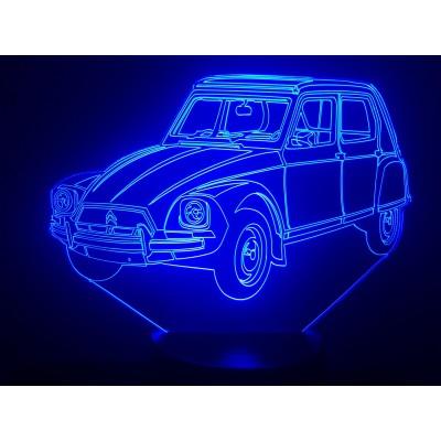 LAMPE 3D - CITROËN DYANE -