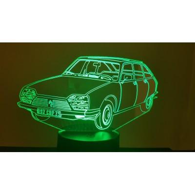 LAMPE 3D - CITROËN GS -