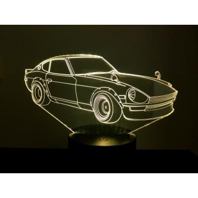 LAMPE 3D - DATSUN 240Z -