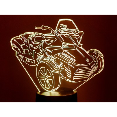 LAMPE 3D - CAN-AM -
