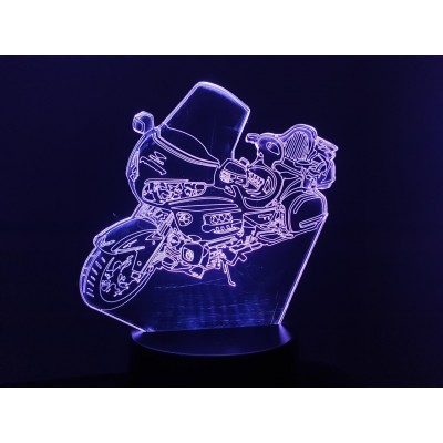 LAMPE 3D - HONDA GOLDWING...
