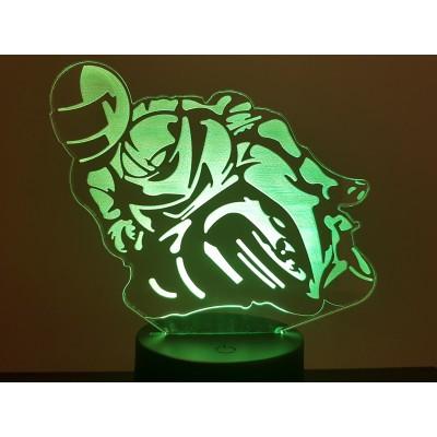 LAMPE 3D - MOTO -