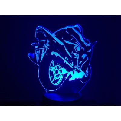 LAMPE 3D - MOTO (2) -