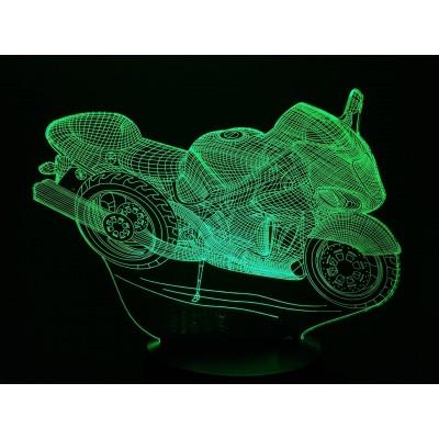 LAMPE 3D - SUZUKI HAYABUSA...